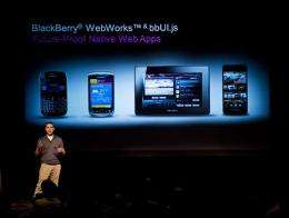 A look at RIM's much-delayed BlackBerry 10