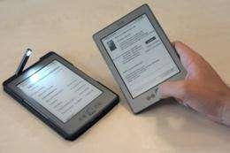 Amazon popular Kindle electronic readers