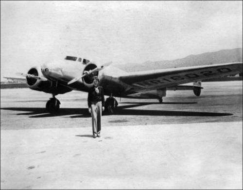 Amelia Earhart and Fred Noonan set out to fly round the world in 1937, but their plane was lost over the Pacific