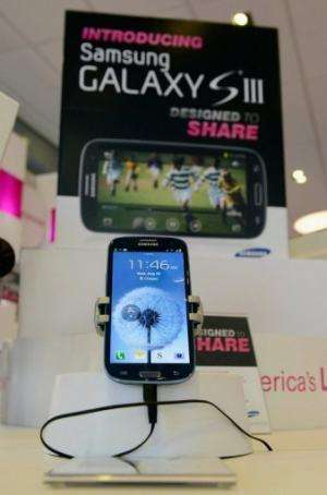 Analysts say Samsung's Galaxy S3 as perhaps the only smartphone that might pose a challenge to a new iPhone