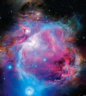 A newly identified separate star cluster in front of the Orion Nebula Cluster