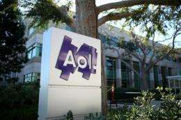 AOL said it was launching a share buyback worth some $600 million