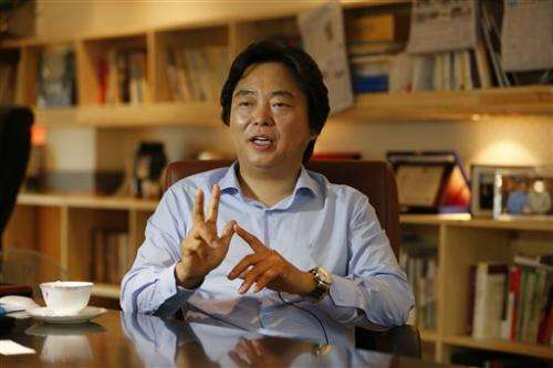 AP IMPACT: China overtaking US as global trader