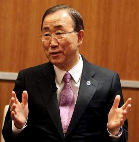 AP Interview: UN chief blames rich for warming
