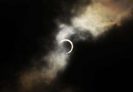 AP Photos: Millions view 'ring of fire' eclipse (AP)