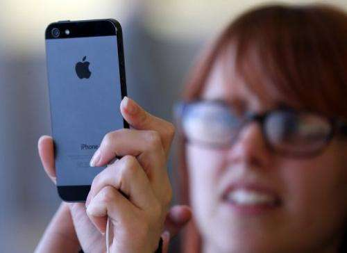 Apple said some customers were having to wait for their phones