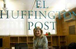 Arianna Huffington is confident El Huffington Post will succeed despite Spain's economic woes