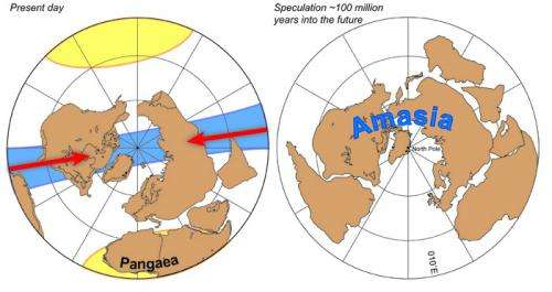 As next supercontinent forms, Arctic Ocean, Caribbean will vanish first