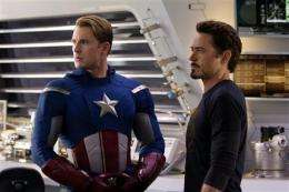 'Avengers' arrives early for Facebook fans (AP)
