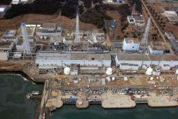 A view of the Fukushima Saiichi nuclear plant in March 2011