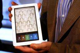 Barnes & Noble on Monday announced it will release Nook tablets in Britain