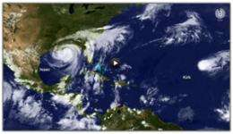 Busy 2012 hurricane season continues decades-long high activity era in the Atlantic