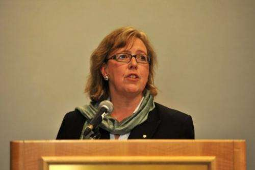 Canada's lone Green Party member of parliament, Elizabeth May