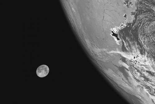 Capturing a 'blue' Moon