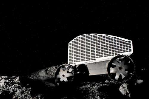 Carnegie Mellon spinoff Astrobotic Technology assembles prototype of lunar water-prospecting robot