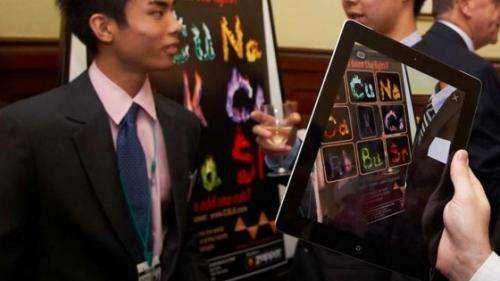 Chemistry in schools comes alive through smartphones