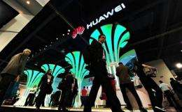 Chinese telecoms giant Huawei on Sunday launched what it touted as the