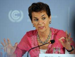 Christiana Figueres, Executive Secretary of the UN Framework Convention on Climate Change