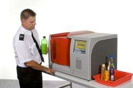 New scanner allows liquids back into aircraft cabin baggage