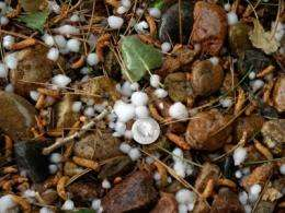 Colorado mountain hail may disappear in a warmer future: study