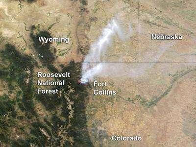 Colorado's High Park fire: June 20, 2012