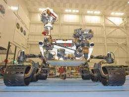 Curiosity rover will serve as terramechanics instrument in explortation of Martian soils