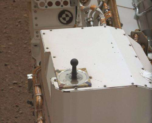 Curiosity's sundial carries a message of hope