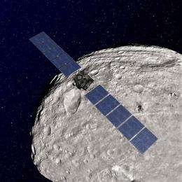 Dawn craft to depart asteroid for dwarf planet