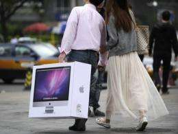 Demand for Apple gadgets is