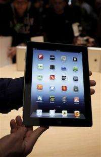 Demand for iPad, rivals leads IDC to up forecast (AP)