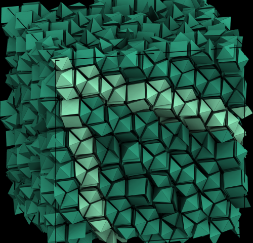 Designer materials: Entropy can lead to order, paving the route to nanostructures