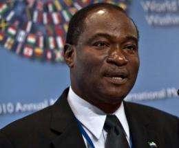 Development Minister Samura Kamara
