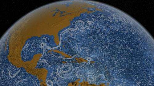 NASA views our perpetually moving ocean