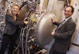 ELISE investigating from today new type of heating for ITER