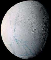 Is it snowing microbes on Enceladus?