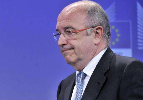 EU Competition Commissioner Joaquin Almunia, pictured on July 17, 2012