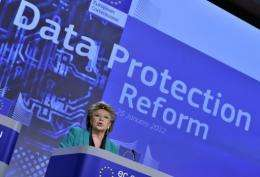 European Justice Commissioner Viviane Reding proposes a comprehensive reform of EU data protection rules