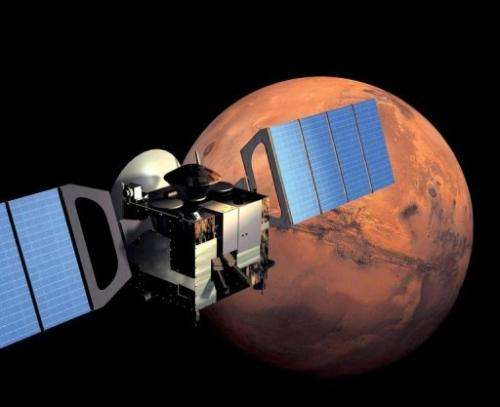 Europe's Mars Express will point its antennas at NASA's Mars Science Laboratory as it approaches Mars on August 6