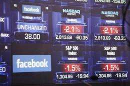 FACEBOOK IPO LIVE: The social network goes public (AP)