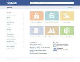 Facebook revamps its help center