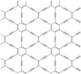 Computer simulations suggest graphynes may be even more useful than graphene