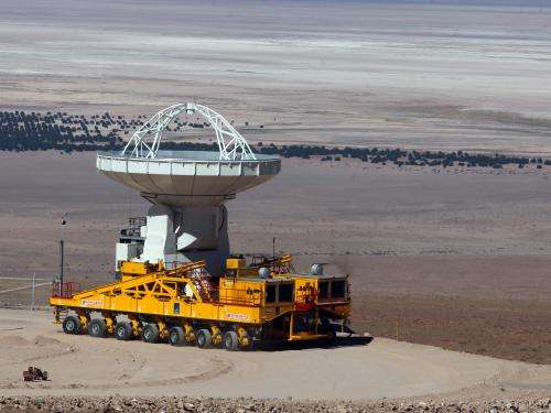 Final North American ALMA antenna delivered