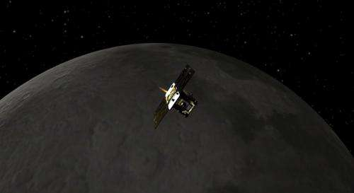 First of NASA's GRAIL spacecraft enters Moon orbit