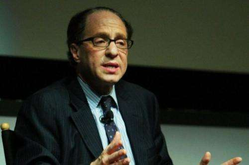 Futurist and inventor Raymond Kurzweil speaks at a panel in New York City on April 28, 2009