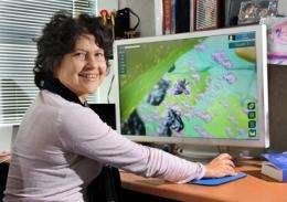 Gamers on 3-D mission to save world, just don't tell them they are learning cell biology