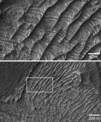 Geologists discover new class of landform -- on Mars
