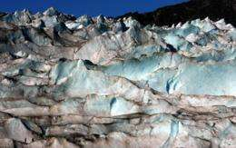 Glaciers: Fossil fuel signature found in Alaskan ice