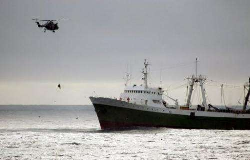 Global fishing fleets should be cut drastically, the UN says