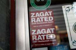Google added the Zagat restaurant review content to its Google+ social network