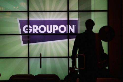 Groupon made no comment on reports of takeover talk